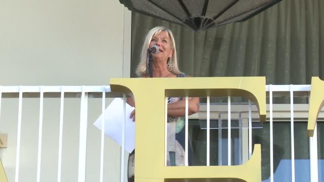 vídeos y material grabado en eventos de stock de chantal rickards at the beverly hilton hotel on september 21, 2019 in beverly hills, california. - the beverly hilton hotel