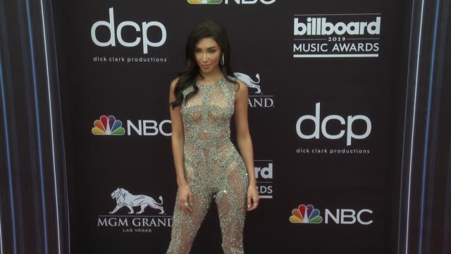 chantel jeffries at the 2019 billboard music awards at mgm grand garden arena on may 1, 2019 in las vegas, nevada. - billboard music awards stock videos & royalty-free footage