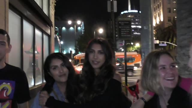 vidéos et rushes de interview chantel jeffries talks about the capitol records party outside katsuya restaurant in hollywood on august 7 2019 at celebrity sightings in... - capitol records