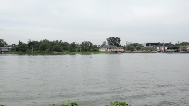 チャオプラヤ川 - チャオプラヤ川点の映像素材/bロール
