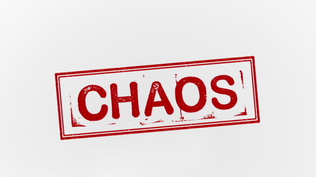 chaos - chaos stock videos & royalty-free footage
