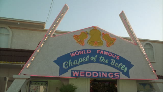 MS 'Chapel of the Bells', world famous wedding chapel / Las Vegas, Nevada, USA