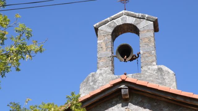 chapel santa maria de elosiaga - bell stock videos & royalty-free footage