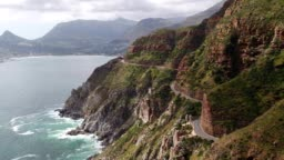 Chapman's Peak Drive near Cape Town