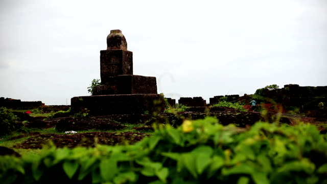 chapora fort, goa - history stock videos & royalty-free footage