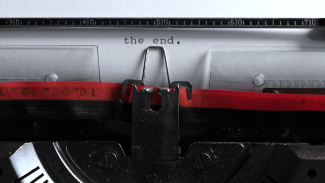 """chapter one"" typed on a vintage typewriter - storytelling stock videos & royalty-free footage"