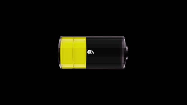 vidéos et rushes de ms chargeant la batterie. animation 3d - batterie