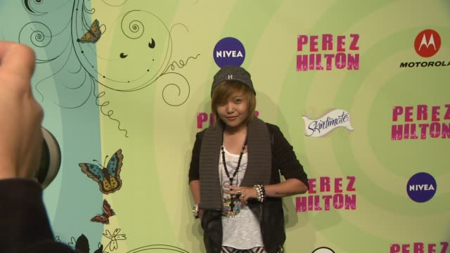 charice at perez hilton's mad hatter tea party birthday celebration on 3/24/2012 in los angeles ca - mad hatter stock videos and b-roll footage
