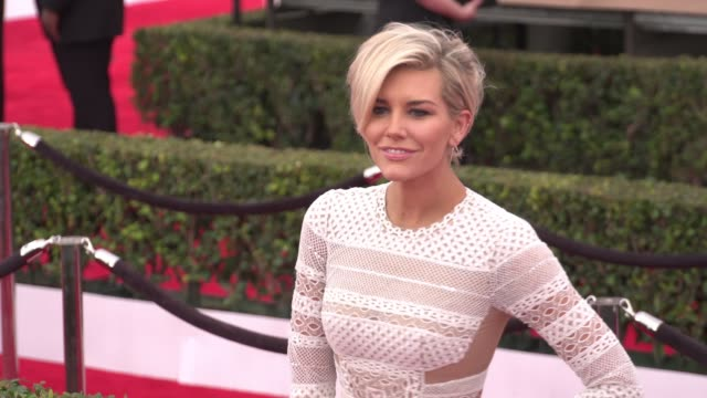 charissa thompson at the 22nd annual screen actors guild awards - arrivals at the shrine auditorium on january 30, 2016 in los angeles, california.... - shrine auditorium stock videos & royalty-free footage
