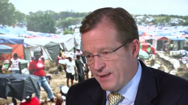 Charities receive funding warning after Oxfam abuse allegations ENGLAND London INT Prof Andrew MacLeod interview SOT