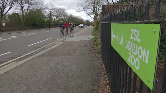 charity cyclists in 1500km in regent's park ride after race cancelled due to coronavirus england london regent's park ext various shots of group of... - cycling stock videos & royalty-free footage