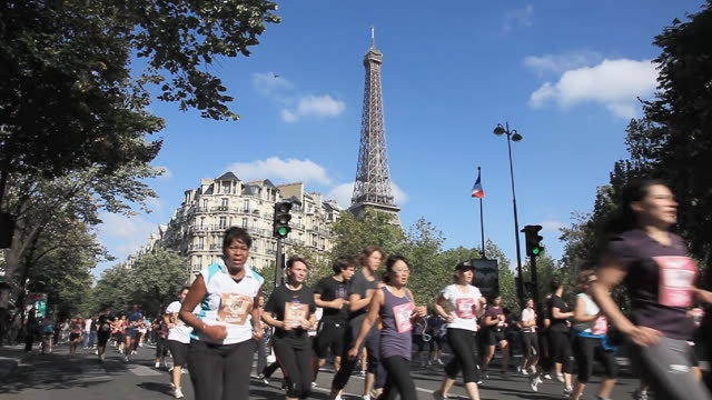 vidéos et rushes de charity fun run - marathon