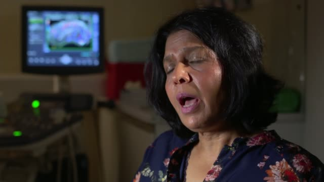 charity says budget cuts have restricted access to ivf treatment in the nhs london create fertility professor geeta nargund sat at desk professor... - human fertility stock videos & royalty-free footage