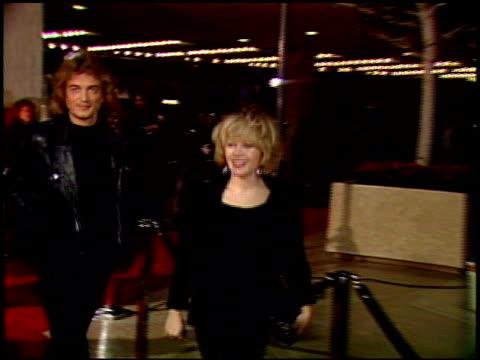 charlene tilton at the 'look who's talking too' premiere at century plaza in century city, california on december 13, 1990. - センチュリープラザ点の映像素材/bロール