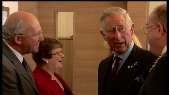 charles and camilla continue on tour of scotland on june 11 2013 in dundee scotland - dundee scotland stock videos & royalty-free footage