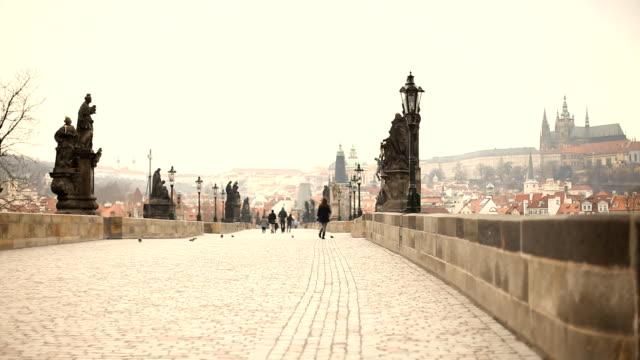vidéos et rushes de pont charles - stare mesto