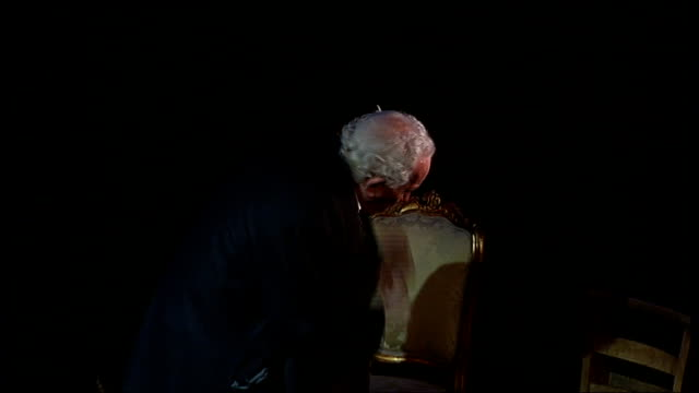 charles dickens bicentenary celebrations: dickens on stage and screen; simon callow performing one-man show based on works of dickens simon callow... - charles dickens stock videos & royalty-free footage