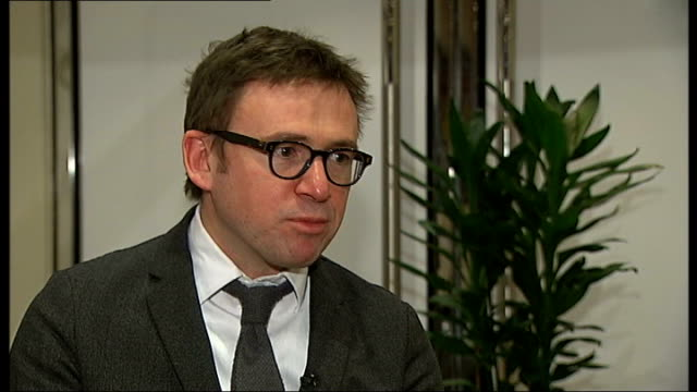 vídeos de stock e filmes b-roll de dickens on stage and screen david nicholls interview sot - charles dickens