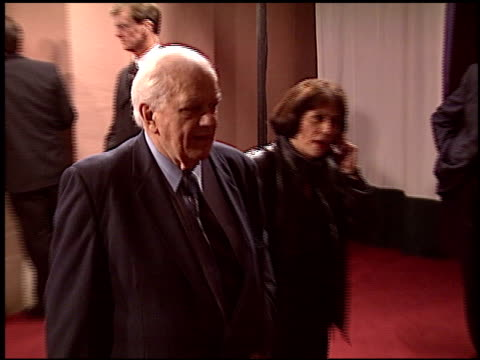 charles durning at the night of 100 stars oscar gala at the beverly hilton in beverly hills california on february 29 2004 - 76th annual academy awards stock videos & royalty-free footage