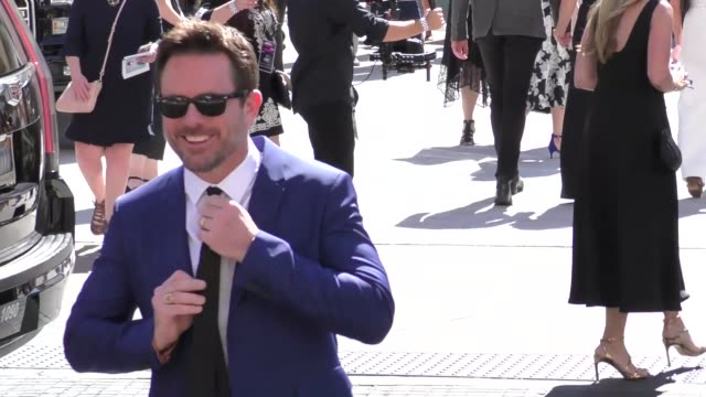 charles esten arriving to the 52nd academy of country music awards in celebrity sightings in las vegas - academy of country music awards stock videos & royalty-free footage