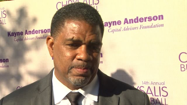 interview charles johnson on being honored at the event what he appreciates about chrysalis what he's most looking forward to about the evening at... - chrysalis butterfly ball video stock e b–roll