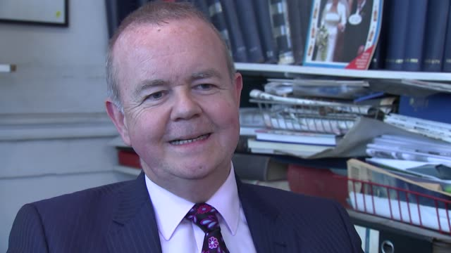 ian hislop interview england london private eye int ian hislop interview sot - ian hislop stock videos & royalty-free footage