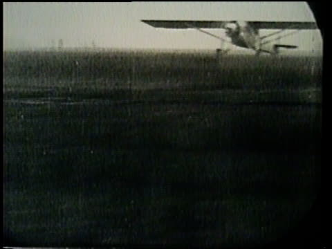 charles lindbergh makes a successful flight across the atlantic alone. - charles lindbergh stock videos & royalty-free footage