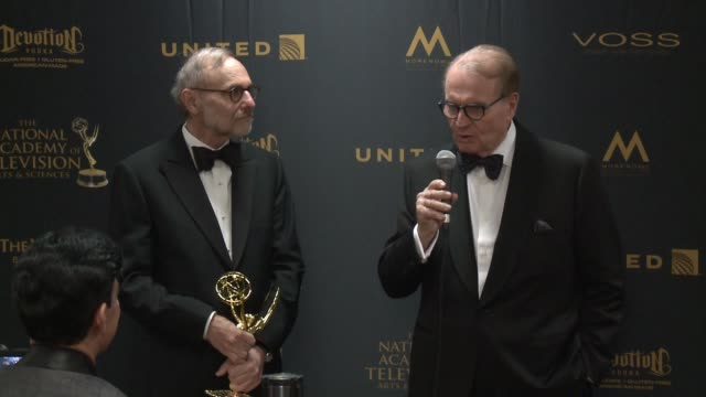 SPEECH Charles Osgood at 43rd Annual Daytime Emmy Awards at Westin Bonaventure Hotel on May 01 2016 in Los Angeles California