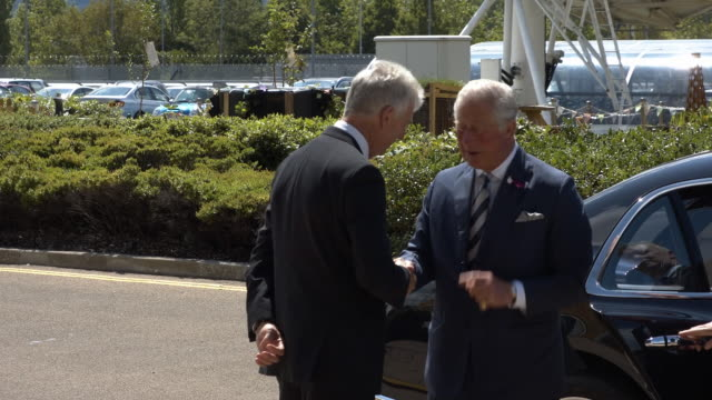 GBR: The Prince of Wales, visits the Headquarters of GCHQ, Cheltenham