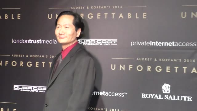 Charles Rahi Chun at the Audrey and KoreAm 2015 Unforgettable Gala at The Beverly Hilton Hotel in Beverly Hills at Celebrity Sightings in Los Angeles...