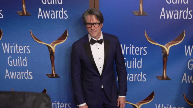 charles randolph at the 2020 writers guild awards at the beverly hilton hotel on february 01, 2020 in beverly hills, california. - the beverly hilton hotel stock videos & royalty-free footage