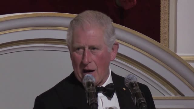 charles's last public engagement before testing positive for the coronavirus was on march 12 where he hosted a charity dinner to raise funds for... - positive emotion stock videos & royalty-free footage