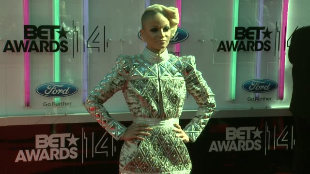 charli baltimore at the 2014 bet awards on june 29 2014 in los angeles california - bet awards stock videos and b-roll footage