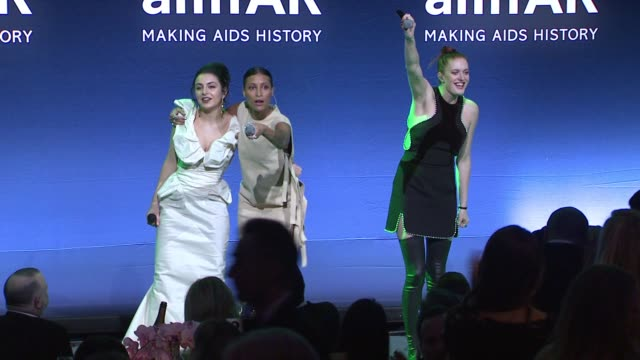 performance charli xcx and icona pop at amfar to honor harvey weinstein at annual new york gala at cipriani wall street on february 10 2016 in new... - charli xcx stock videos & royalty-free footage