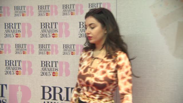 charli xcx at brit nominations launch on january 15 2015 in london england - charli xcx stock videos & royalty-free footage