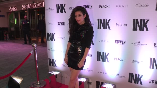charli xcx at ink bar launch on september 03 2013 in london england - charli xcx stock videos & royalty-free footage
