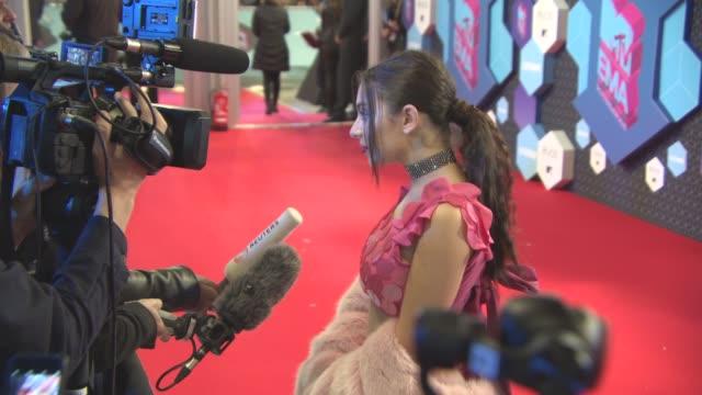 charli xcx at mtv emas on november 6 2016 in rotterdam netherlands - charli xcx stock videos & royalty-free footage