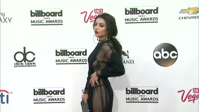 Charli XCX at the 2014 Billboard Music Awards Arrivals at the MGM Grand Garden Arena on May 18 2014 in Las Vegas Nevada