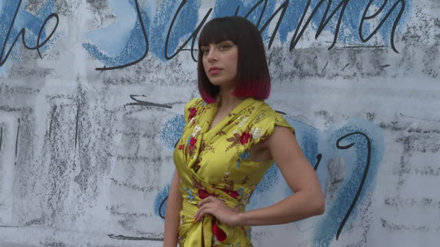 charli xcx at the summer party 2019 presented by chanel serpentine galleries at the serpentine gallery on june 25 2019 in london england - the serpentine gallery stock videos & royalty-free footage