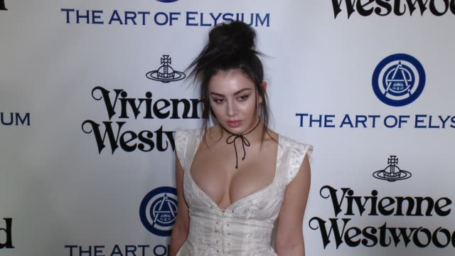 charli xcx at the the art of elysium's ninth annual heaven gala at 3labs on january 9 2016 in culver city california - charli xcx stock videos & royalty-free footage