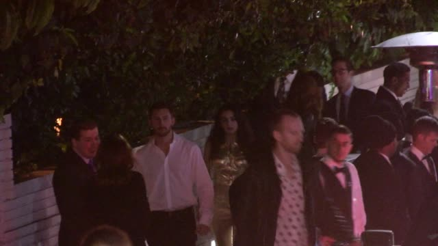 charli xcx departs the 2014 gq men of the year at chateau marmont in west hollywood in celebrity sightings in los angeles - charli xcx stock videos & royalty-free footage