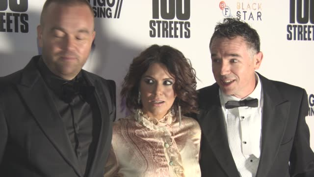 charlie creed miles, leon f butler at '100 streets' - uk film premiere at bfi southbank on november 08, 2016 in london, england. - bfi southbank stock videos & royalty-free footage
