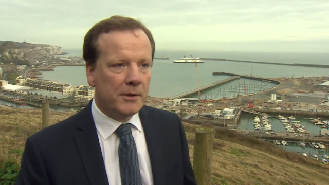 "charlie elphicke mp interview about the 34 migrants picked up in the english channel ""this is the largest group of migrants in a single boat that we... - mp stock videos & royalty-free footage"