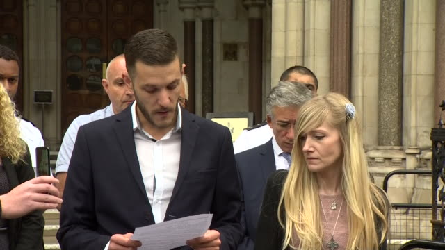 charlie gard's father chris gard criticising the wasted time fighting legal battles when charlie could have been receiving potentially lifesaving... - scolding stock videos & royalty-free footage