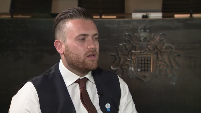 pc charlie guenigault describing what he faced during the london bridge terror attacks - inquest stock videos & royalty-free footage