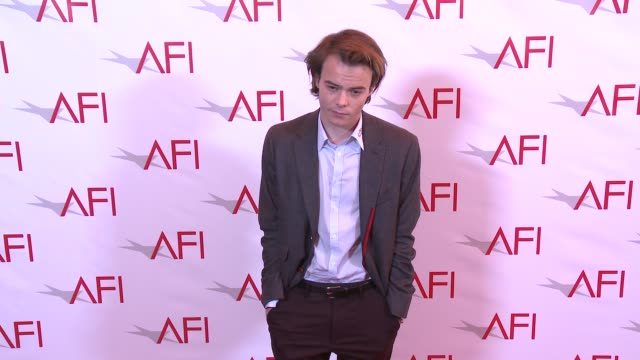 charlie heaton at four seasons hotel los angeles at beverly hills on january 06, 2017 in los angeles, california. - four seasons hotel stock videos & royalty-free footage