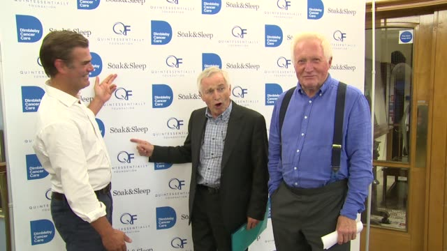 charlie hunt, jonathan dimbleby, david dimbleby on september 13, 2016 in london, england. - david dimbleby stock videos & royalty-free footage