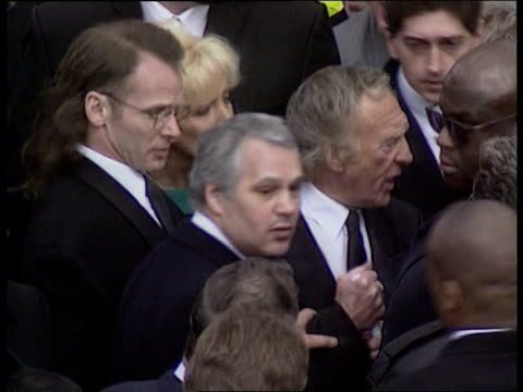 charlie kray funeral lib tms charlie kray at ronnie kray's funeral - bethnal green stock videos & royalty-free footage