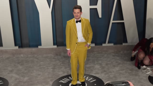 charlie puth at vanity fair oscar party at wallis annenberg center for the performing arts on february 9, 2020 in beverly hills, california. - vanity fair stock videos & royalty-free footage