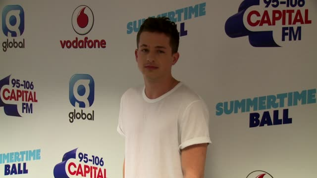 charlie puth at wembley arena on june 10 2017 in london england - wembley arena stock videos & royalty-free footage